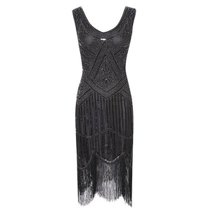 Sequined Great Gatsby Dress