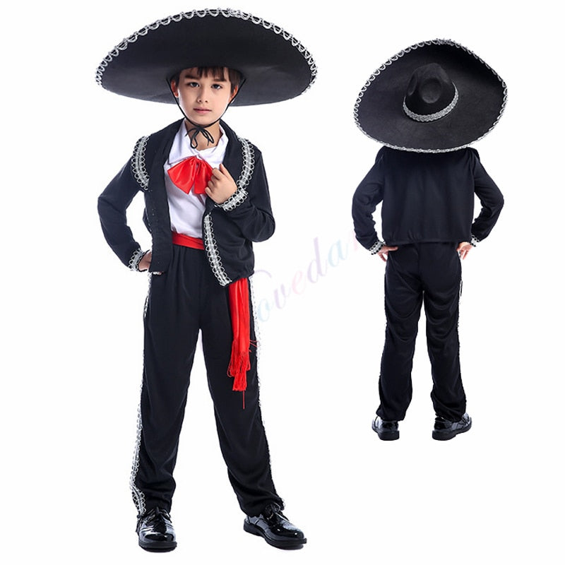 Traditional Mexican Mariachi Costume
