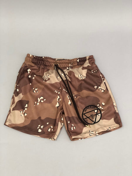 Melanin Camo Shorts Vol 1