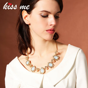 KISS ME Special Water-drop Necklace