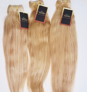 Straight Natural Blonde Single Bundles
