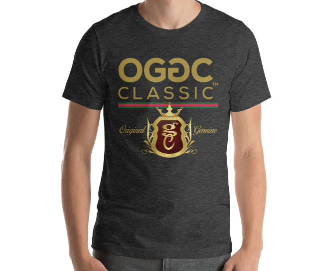 OGGC Brand Tees Original Genuine Classic T-Shirts Royal Shirt