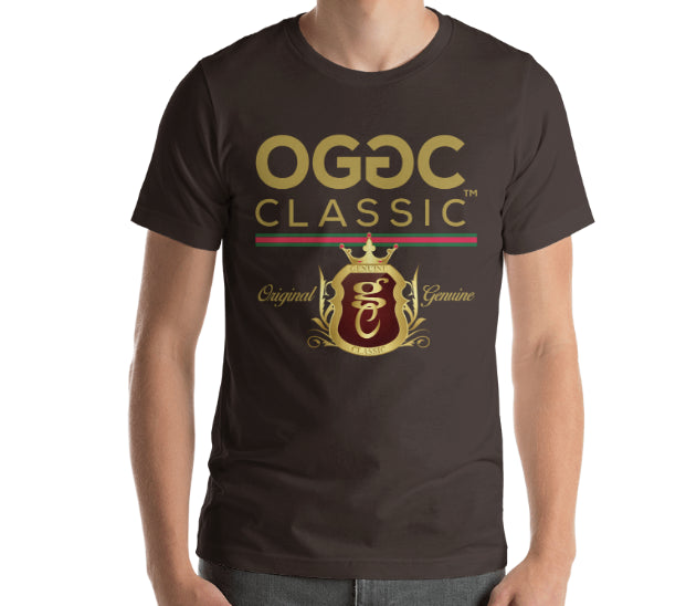 OGGC Brand T-Shirt Original Genuine LA Classic Blue Tee Shirts