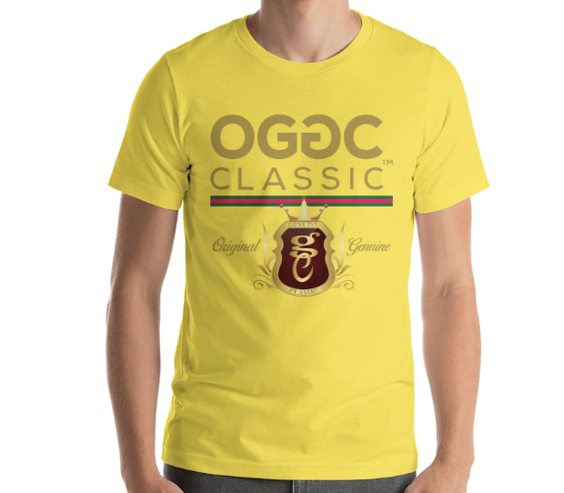 OGGC Brand T-Shirts Original Genuine Classic Red Tee Shirt