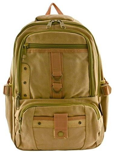 "Canvas Backpack Designer Vintage Style Travell Well School Bags Small 12 Medium 13 "" Mochila Laptop Bag - Travell Well"