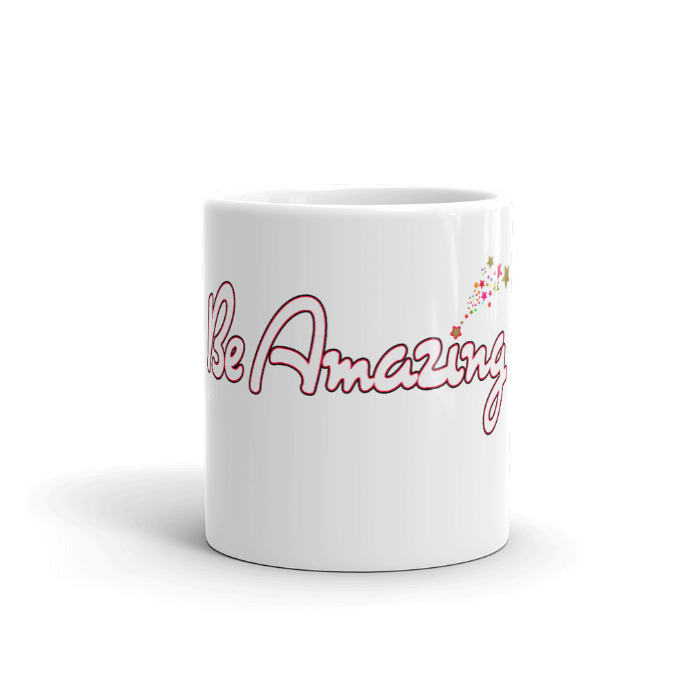 Max La Vida Be Amazing Coffee Cup Inspirational Coffee Cups Mugs