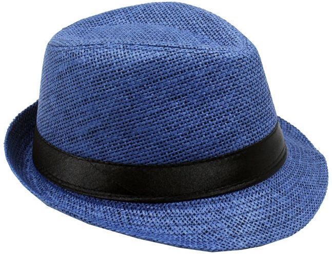 Fedora Hat Travis Living Navy Blue Fedora Hats