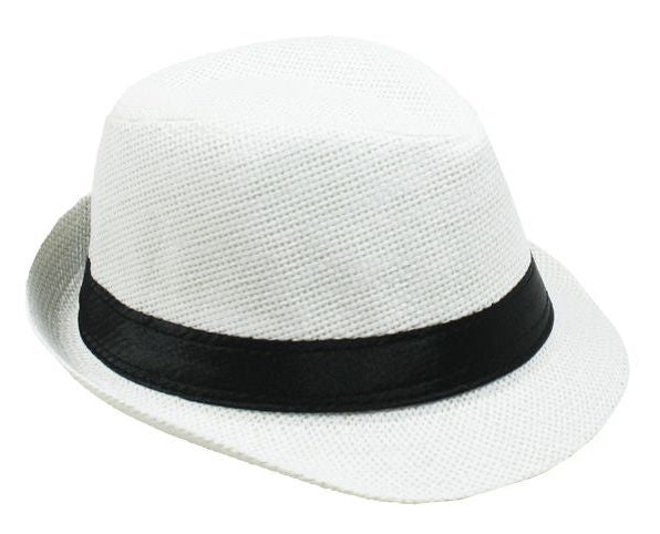 Fedora Hat Travis Living White Fedora Hats