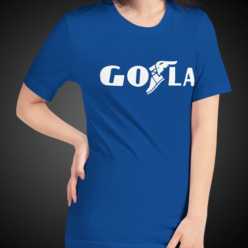 GO LA Shirt Womens Let's GO L.A. All Los Angeles Teams Game Time T-Shirt Tee Top