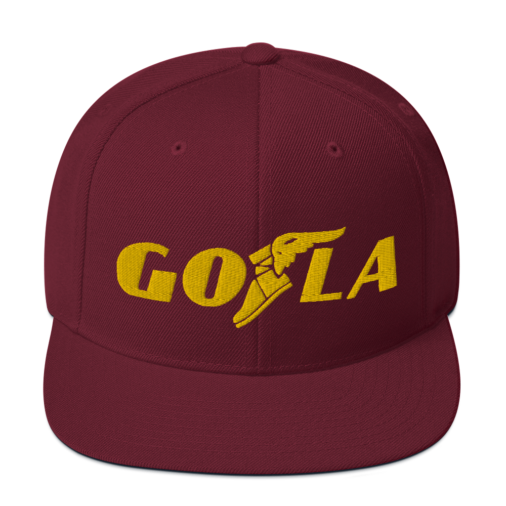 GO LA Hat Men's Let's GO L.A. Los Angeles Team Game Time LA Lakers Colors Snapback Caps Hats