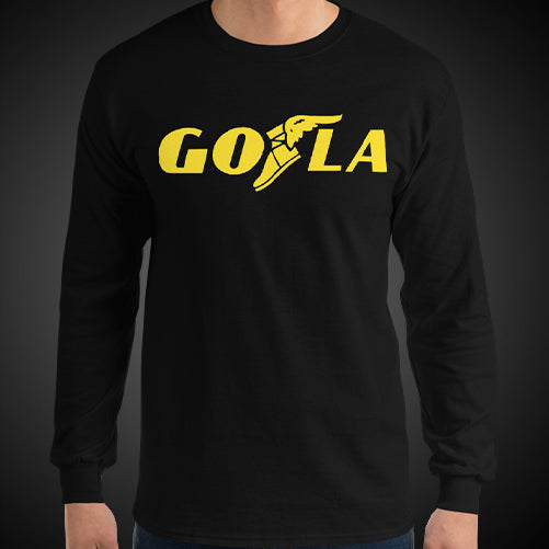 GO LA Teams Shirt Long Sleeve Mens Let's GO L.A. Los Angeles Game Time Long T-Shirt Tee Top