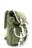 Green Canvas Backpack Rucksack Mochila Sac à dos Stylish White Trim Travell Well Laptop School Bag - Travell Well