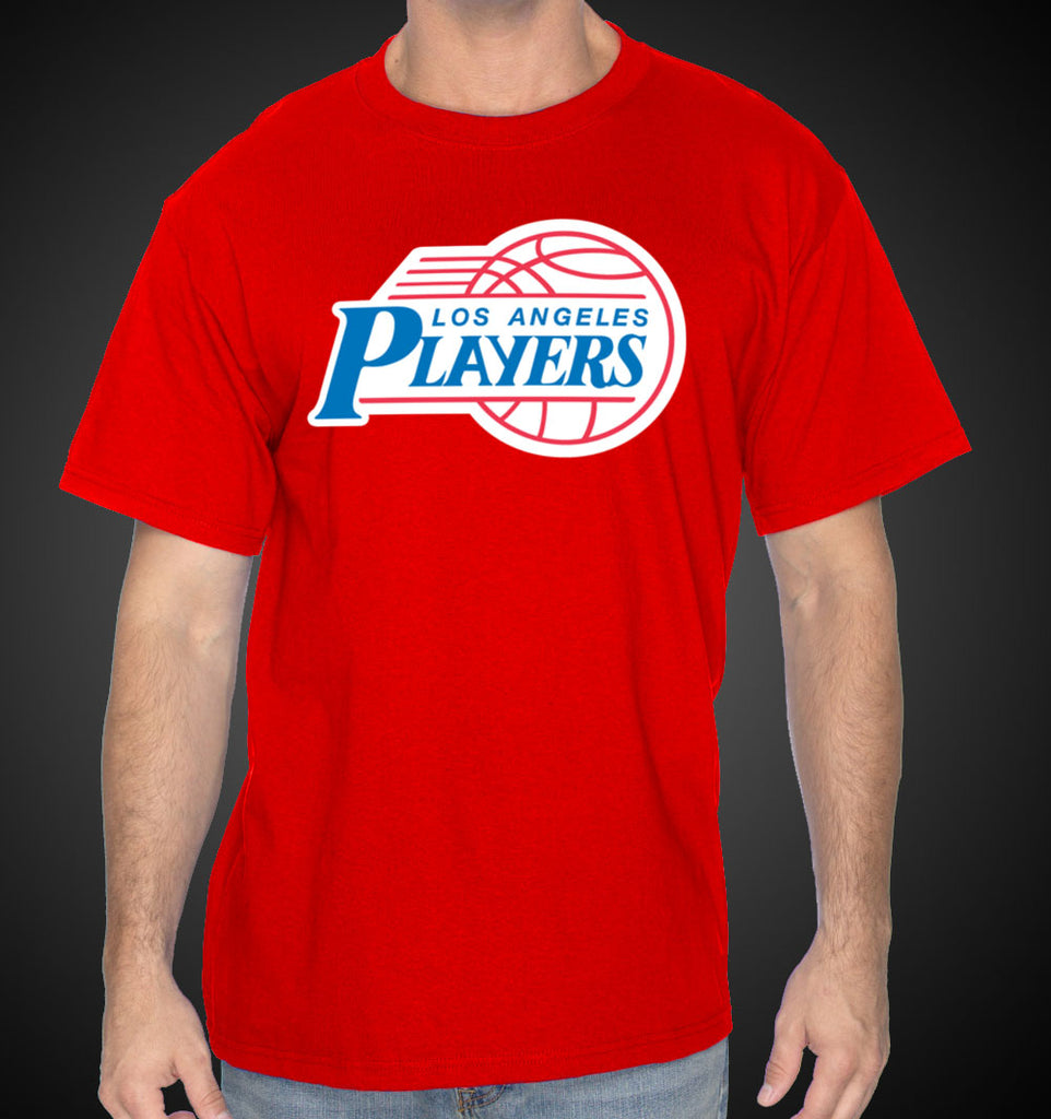 L.A. Shirt Clipper LAPlayers Style Tees Royal LA Shirts