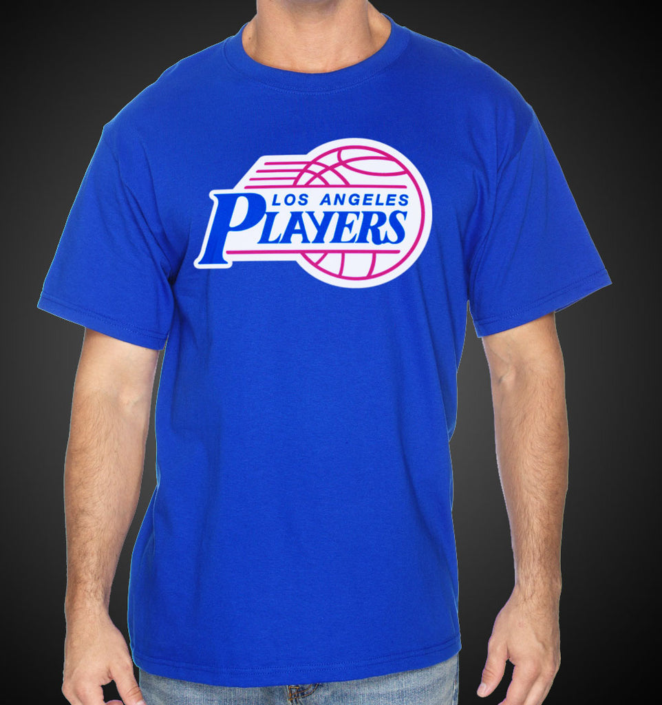 L.A. Shirt Clippers LA Players Style Tee Blue LA Shirts