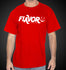 L.A. Shirt Red LA Flavor Tees LA T-Shirt