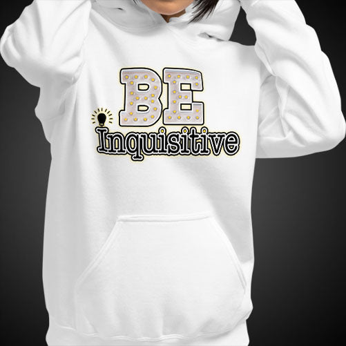 Max La Vida Women's Be Inquisitive Motivational Hoodies