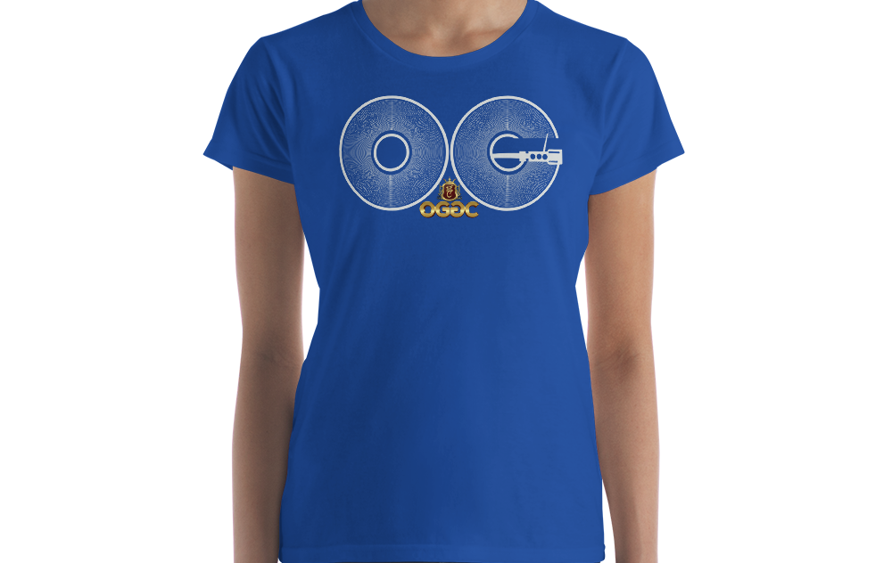 OGGC Girl Shirt OG Vinyl Record DJ Womens Shirts