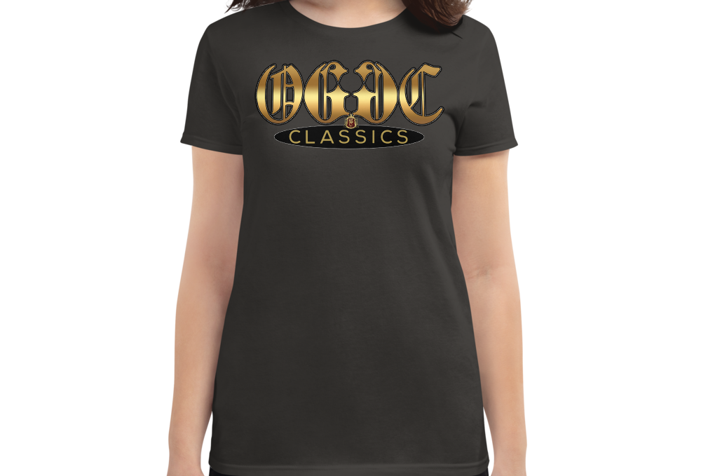 OGGC Girl Shirt Gold Old E Classics Women Shirts