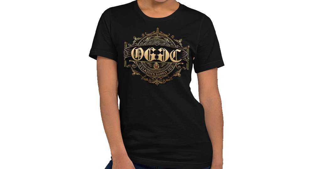 OGGC Girl Shirt Original Tribal Gold Sun Women Shirts