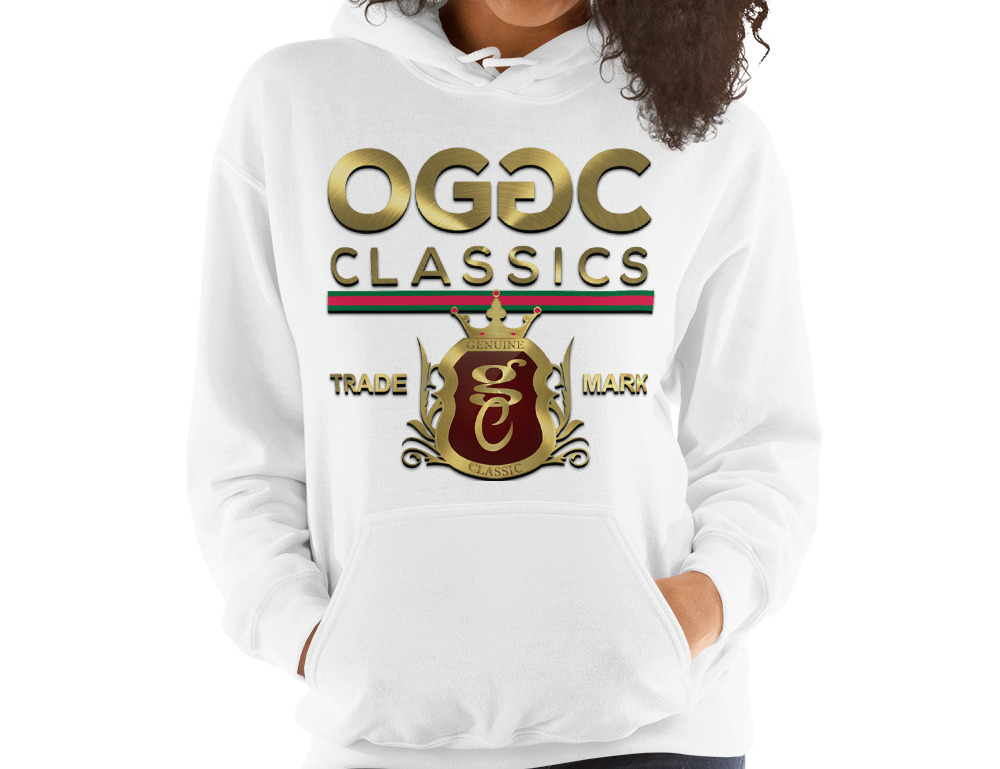 OGGC Womens Hoodies Gold Classics Trademark Hoodies Women Hoods