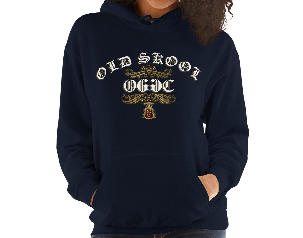 OGGC Womens Hoodies Old Skool Hoodie OG Old School Women Hoods