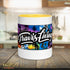 Travis Living Palm Leaves Coffee Cup Multi-Color Travel Cafe Cups Mugs