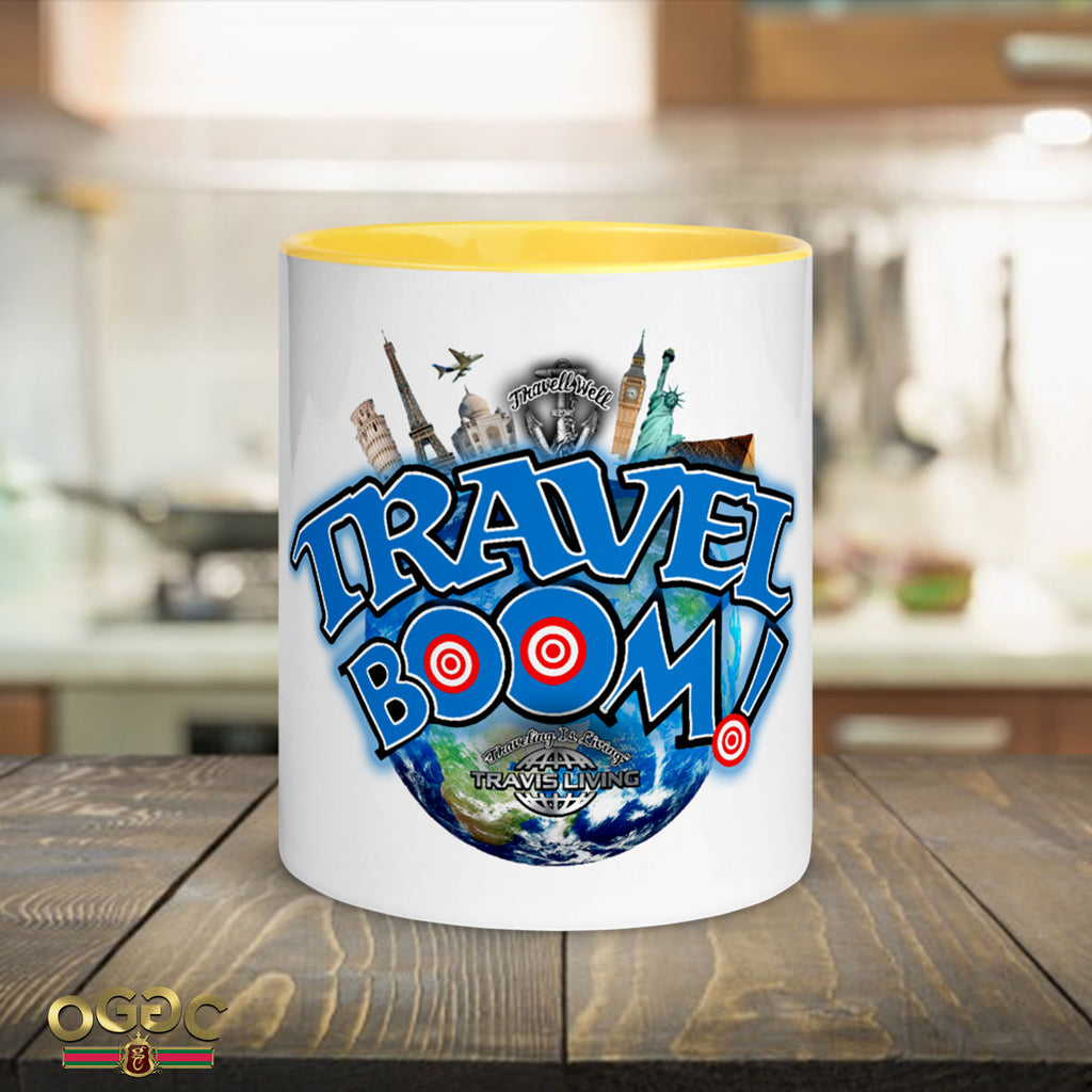 Travel Boom Coffee Cup Multi-Color Travel Ready Coffee Cups Cafe Mug