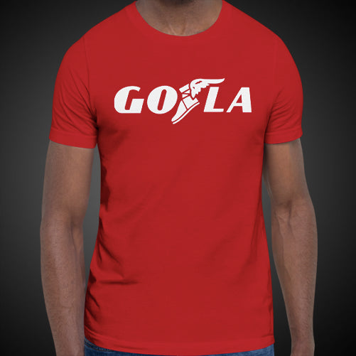 GO LA Shirt Men's Let's GO L.A. All Los Angeles Team Game Time T-Shirt Tees Tops