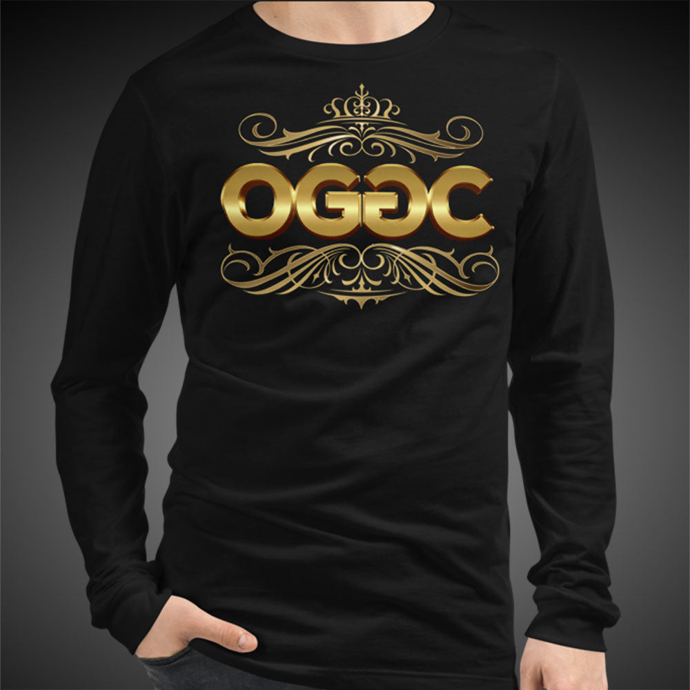 OGGC Men Long Sleeve Shirts Gold Classics Collection Genuine Greatest Tees Authentic Quality Shirts