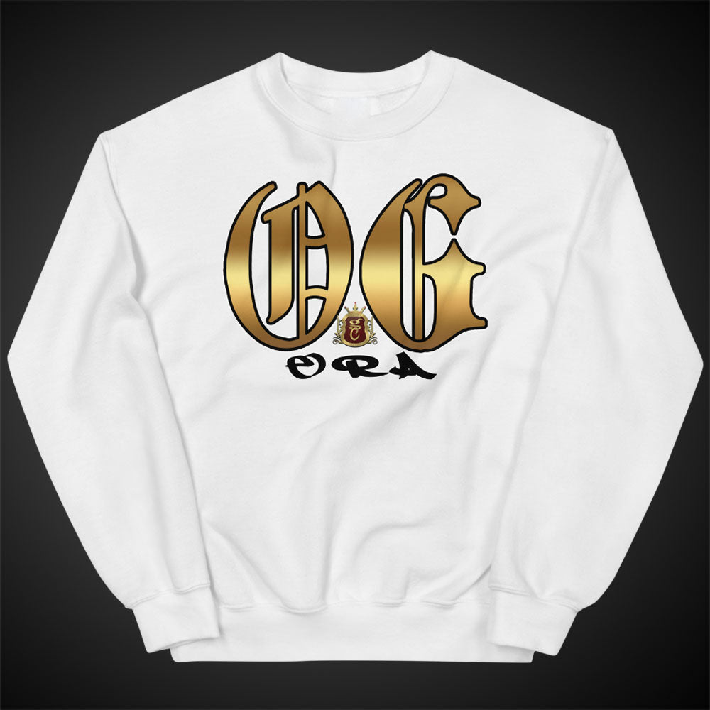 OGGC Sweatshirts Big OG Era Crewneck Pull-Over Sweatshirt Authentic Quality Apparel