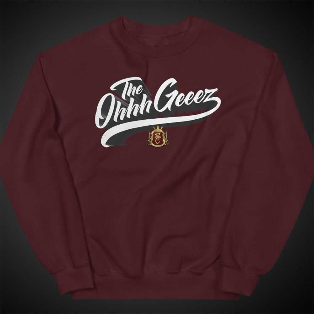 OGGC Sweatshirts The Ohhh Geeez Crewneck Pull-Over Sweatshirt Authentic Quality Apparel