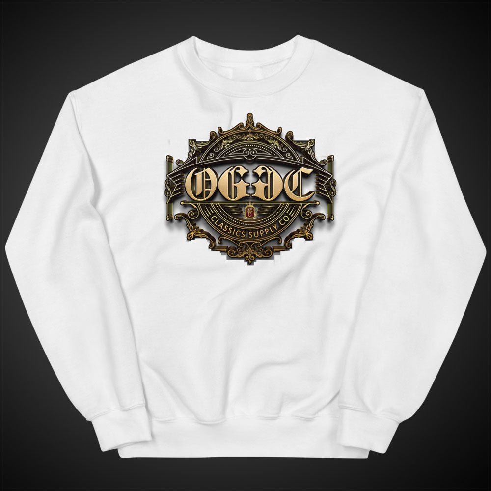 OGGC Sweatshirts Original Tribal Gold Sun Crewneck Women Pull-Over Sweatshirt