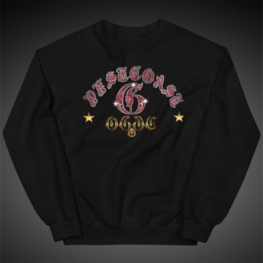 OGGC Sweatshirts West Coast G Crewneck Women Pull-Over Sweatshirt Authentic Quality Apparel