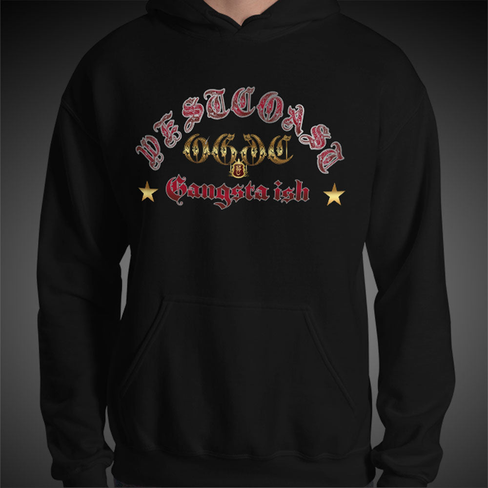 OGGC Hoodies West Coast Gangsta Ish Red Ink Quality Hoods