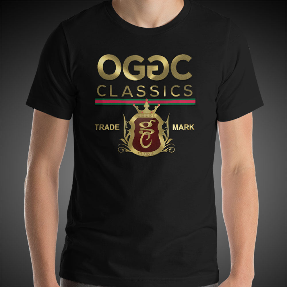 OGGC Mens Shirt Gold Classics Collection Genuine Greatest Tees Authentic Quality Shirts