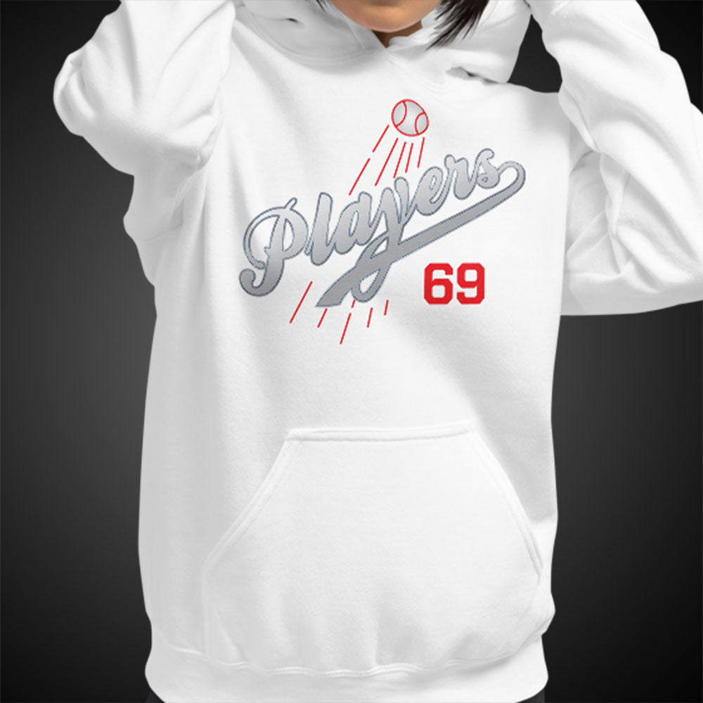 OGGC Womens Hoodie Los Angeles Dodgers Style Hoodies L.A. Hoods