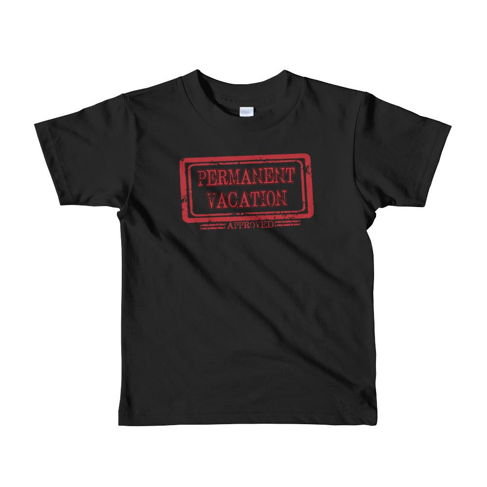 Travell Well Shirt Boys Travel Permanent Vacation T-Shirt Boy Tees