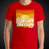 Sunset Therapy Shirt Mens World Travel T-Shirt Men Tees - Travell Well