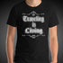 Traveling is Living Travel Shirt Mens World Travel T-Shirt Men Tees - Travell Well