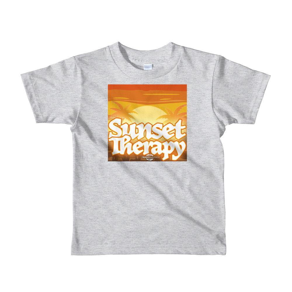 Travell Well Shirt Boys Travel Sunset Therapy T-Shirt Boy Tees