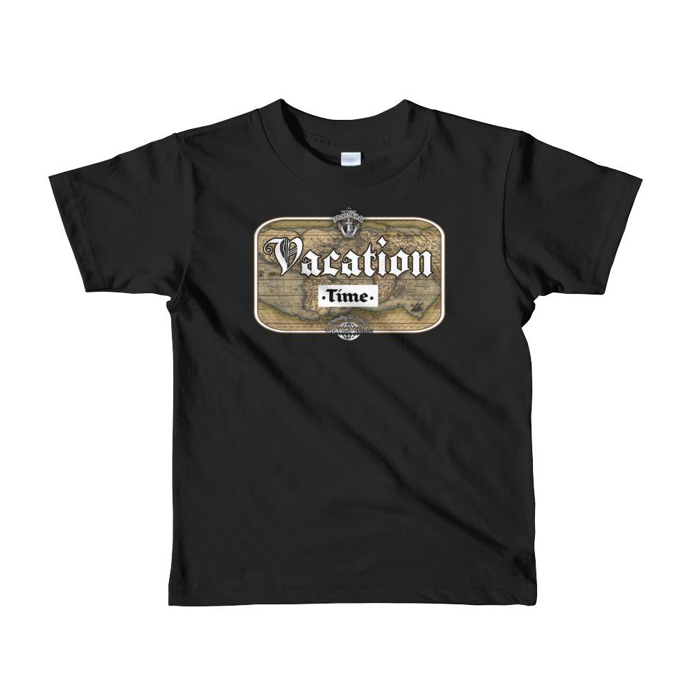 Travis Living Shirt Girls Travel Vacation Time T-Shirt Girl Tees