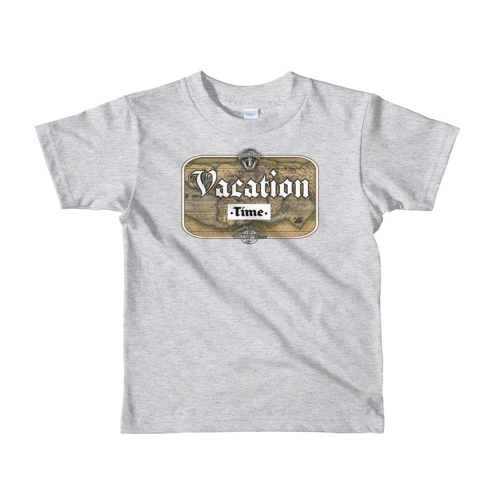 Travell Well Shirt Boys Travel Vacation Time T-Shirt Boy Tees