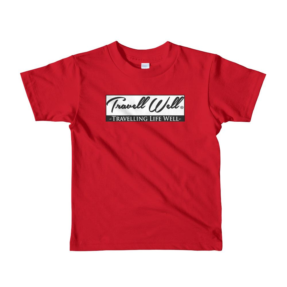 Travell Well Shirt Boys Travel Travell Well T-Shirt Boy Tees