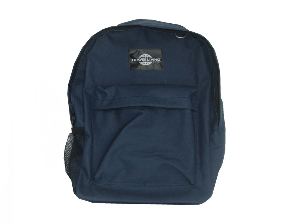 Travis Living Backpacks School Bag Boys Girls Perfect Size School Khaki Backpack