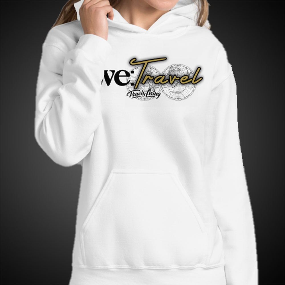 Travis Living Hoodie We Travel Womens Hoody Quality Hoods