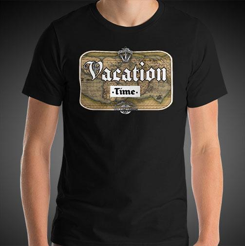 Vacation Time Travel Shirt Mens World Travel T-Shirt Men Tees - Travell Well