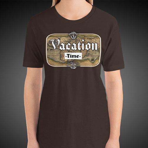 Vacation Time Travel Shirt Girls World Travel T-Shirt Womens Tees - Travell Well