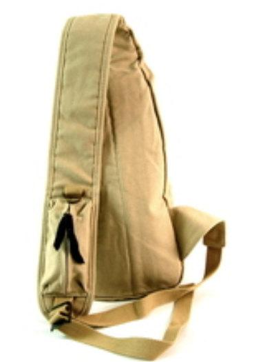 Canvas Single Shoulder Crossbody Sling Khaki Tan Beige Travell Well with Vintage Style Classic Crossbody Sling Bag - Travell Well