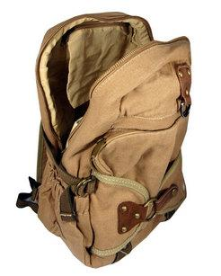 Top Quality Stylish Canvas Backpack Black Rucksack Vintage Black | Khaki | Military Green Backpacks - Travell Well