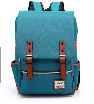 Canvas Backpack Vintage Style School Bags Large Mochilas Escolares Quality Backpacks